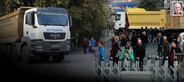 Hafriyat kamyonlarının Türkiye'si