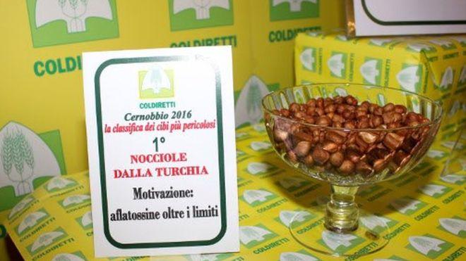 İtalya'da en tehlikeli gıdalar listesinde Türk fındığı, kuru incir ve biber ilk sıralarda