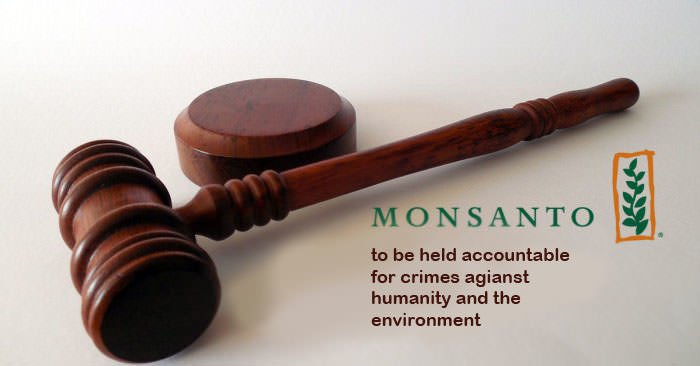 Monsanto, Dünya Gıda Günü'nde uluslararası sivil mahkemede yargılanıyor