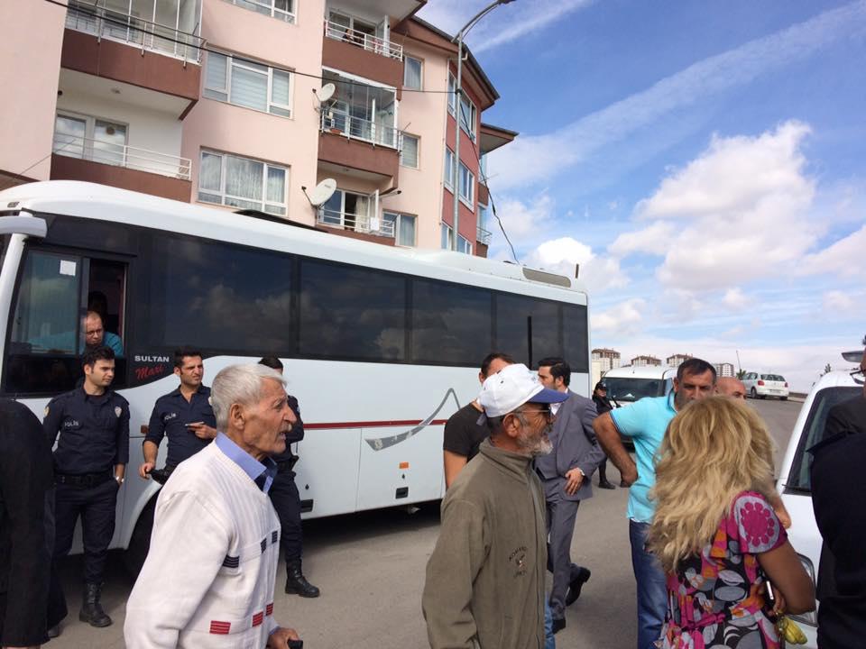 Tuzluçayır'a polis eşliğinde baz istasyonu: Halk yaptırmadı, polisi kovdu