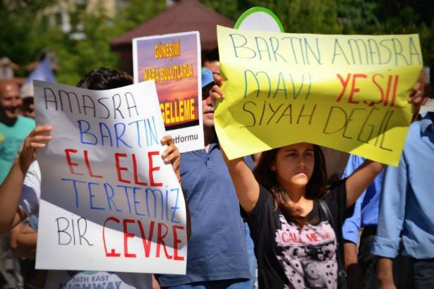 """Bartınlılar termik santral istemiyor: """"Bakanlığın tavrı halka ihanettir"""""""