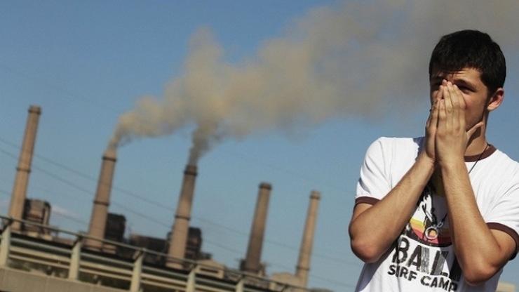 Dünya çökerken: Karbondioksit yoğunluğu 2015'te rekor düzeye ulaştı
