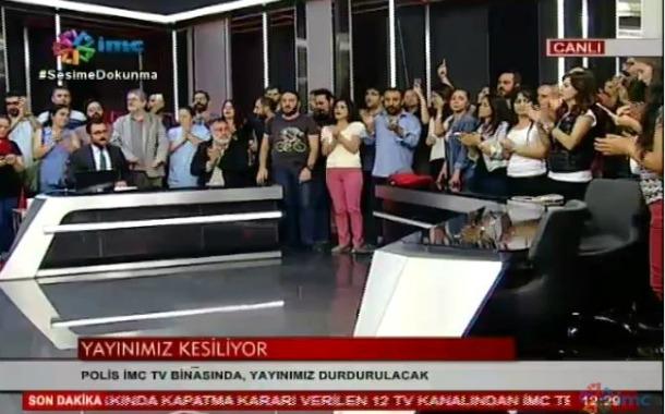 İMC TV: Hükümeti hukuksuzluktan dönmeye, halkı dayanışmaya çağırıyoruz!