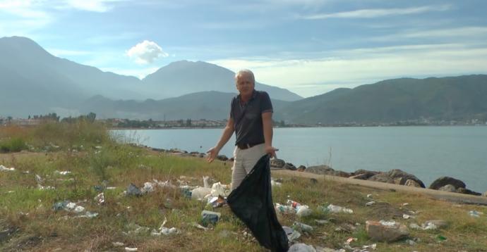 İngiliz 'Mick Amca'nın Türkiyelilere çöp isyanı: Utanmıyor musunuz?