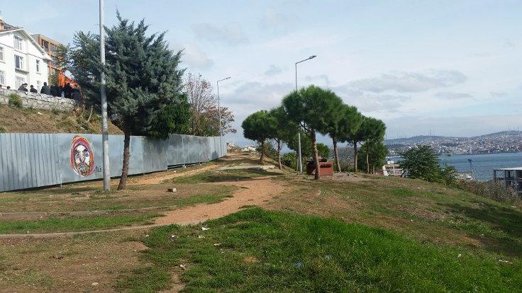 Belediye Cihangir Roma Parkı'na 'tümden' giriyor