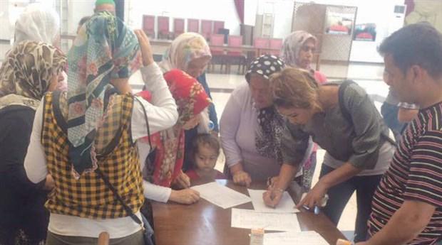 Hatay, Sarıseki'de kömür depolama tesisine halk tepki gösterdi