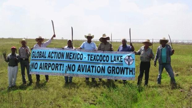 Havalimanlarına karşı küresel direniş