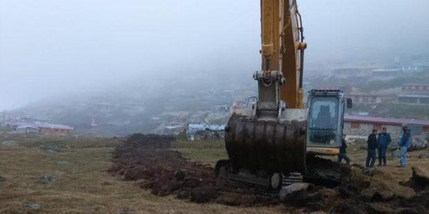 'Yeşil Yol' inşaatı yeniden başladı: Yaylasını korumak isteyen 11 kişi gözaltında
