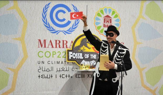 İklim Zirvesine hızlı başladık: COP22'de ilk günün fosili Türkiye
