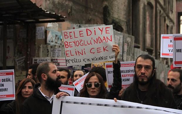 Beyoğlu Esnaf Dayanışması Demircan'ı uyardı