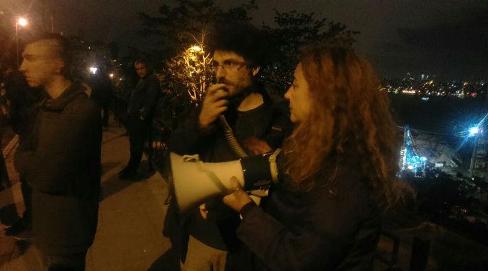 Cihangir Roma Bahçesi aktivisti Deniz Özgür: Burada kentsel faşizmle mücadele ediyoruz