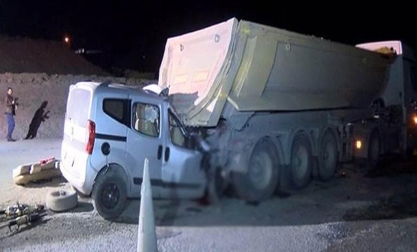 Katil Mega projeler yaşamı yok etmeye devam ediyor. Hafriyat kamyonları 2 can daha aldı!