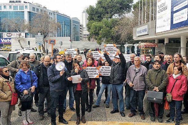 Kültürpark Platformu: İzmir'in ortasında kent suçu işleniyor, göz yummayacağız!