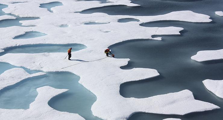 Bilim insanları uyardı: Kuzey Kutbu'nda sıcaklık tarihte ilk kez donma derecesinin üzerine çıkabilir
