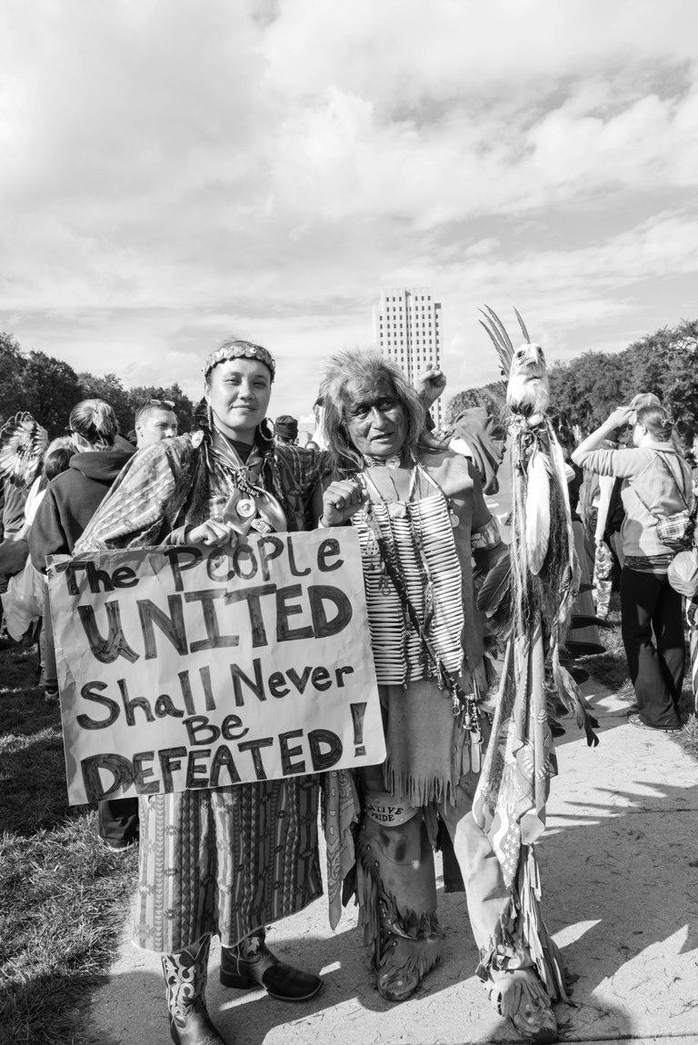 ABD'de yerli direnişi: Çadırları, aşevi, komün hayatıyla Dakota kampı (Foto haber)
