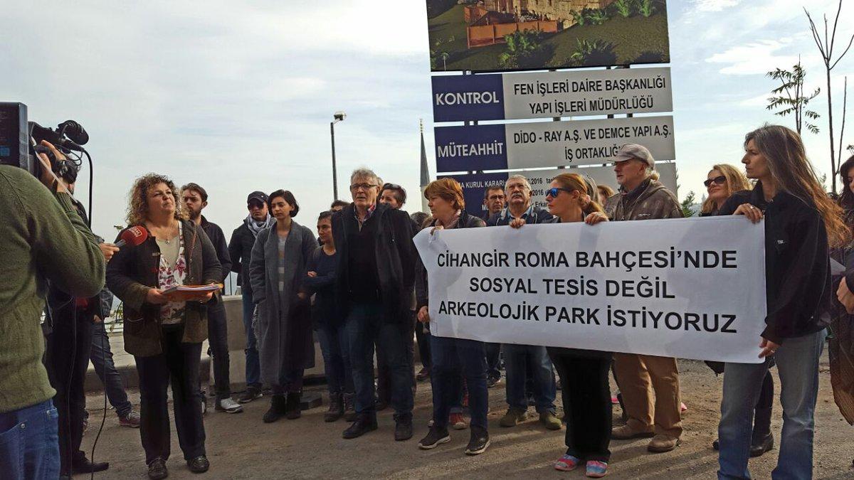 Roma Bahçesi için mücadele devam ediyor: Sosyal tesis değil, arkeolojik park!