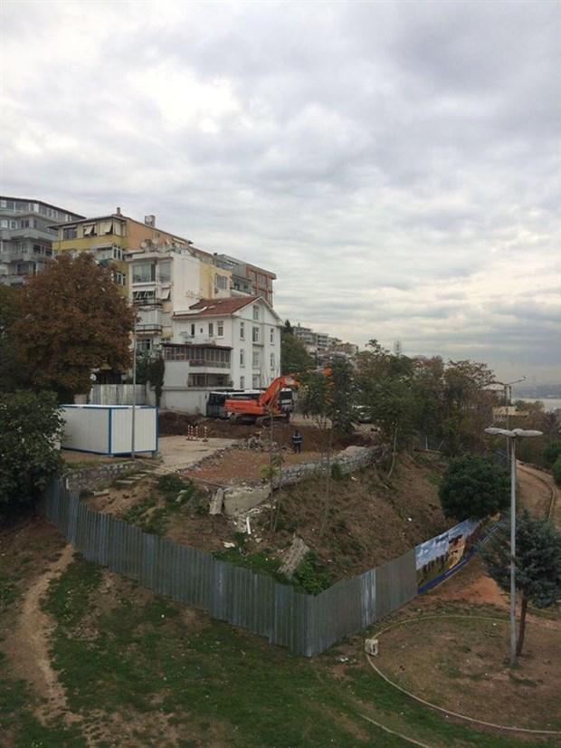 Roma Parkı'nda izinsiz kazı tekrar başladı