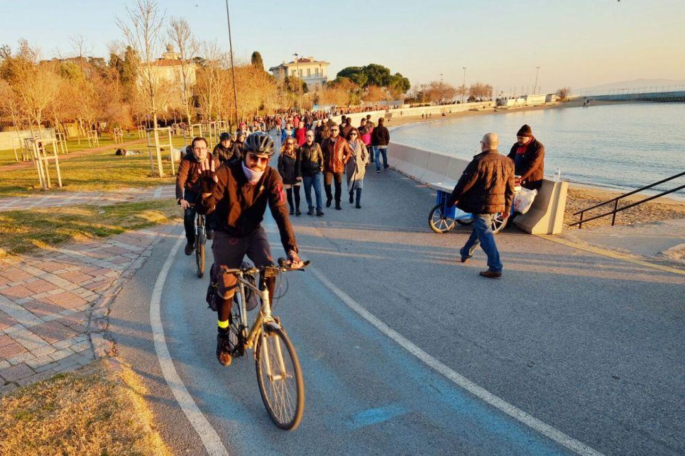 Don Kişot bisikletini ALİKEV için sürdü!