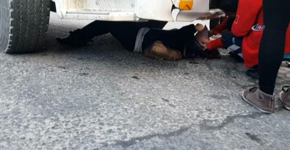 Hafriyat kamyonu Levent'te bir genç kadını ezdi! #HafriyatKamyonuTerörü son bulsun!