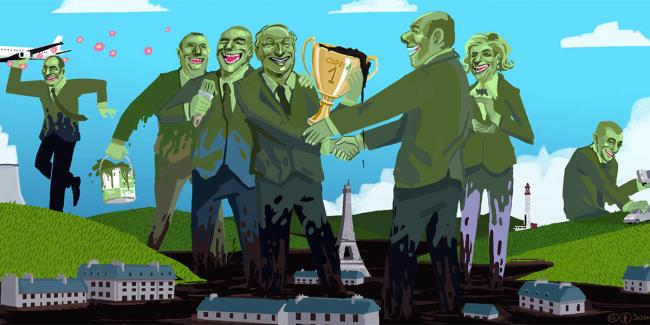 Avrupa'dan Şanghay'a gittikçe silikleşen çevre politikası