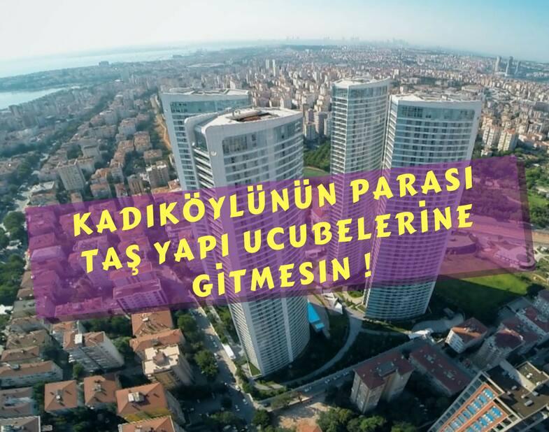 30 Aralık Cuma 11.00 Basın toplantısı: Kadıköy'ümüzü Taşyapı'ya teslim etmeyeceğiz!