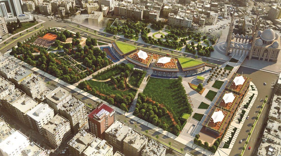 """Urfa'da """"Şehir Parkı"""" yerine AVM yükseldi"""
