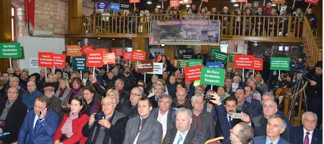 Silivri'de yurttaşlar ayağa kalktı: Termik yanlışından dönün, Başbakan tekrar değerlendirsin