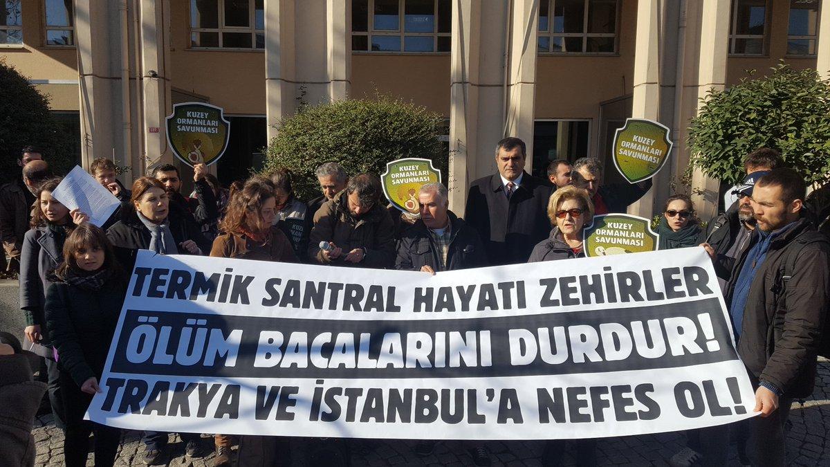 Ölüm bacalarını durdur, Trakya'ya ve İstanbul'a nefes ol!