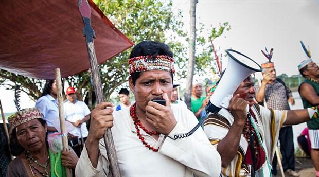 Peru'da yerlilerden 'petrol boru hattı' uyarısı: Direniriz