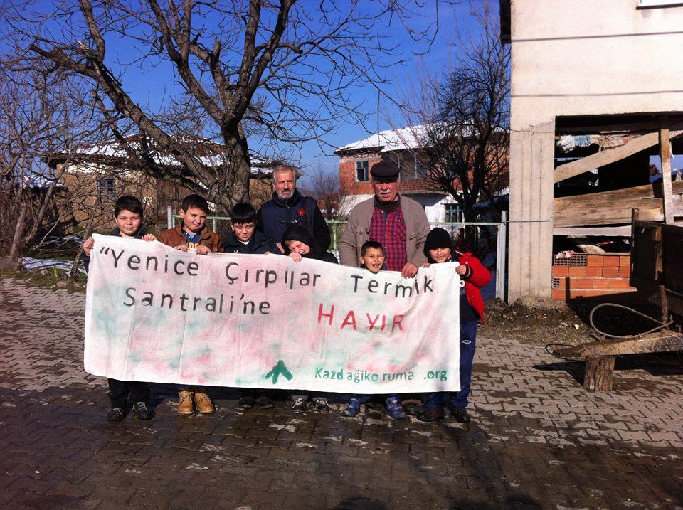 Yaşamı savunmak için Çırpılar termik santraline karşı mücadele devam ediyor