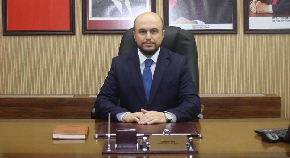 AKP Çerkezköy İlçe Başkanı Abdullah Öğe termik santrale yeşil ışık yaktı