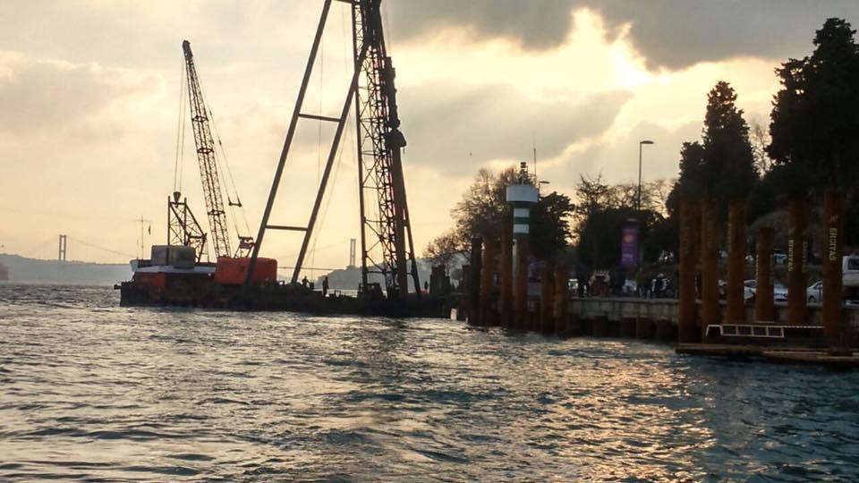 Amaçları kaldırım değil, tekne park inşa etmek