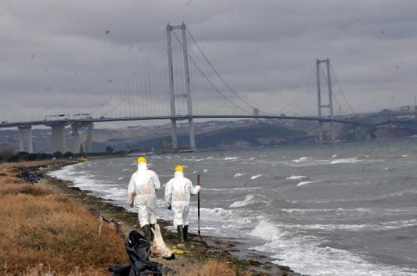 Körfez'deki sızıntı İstanbul'u tehdit ediyor