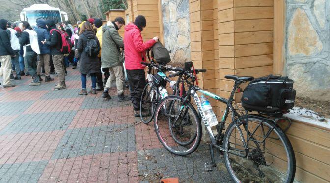 """Don Kişot Bisiklet Kolektifi: """"Ormana demir yolu yapılmaz dedik, haykırdık, ormana pedalladık"""""""