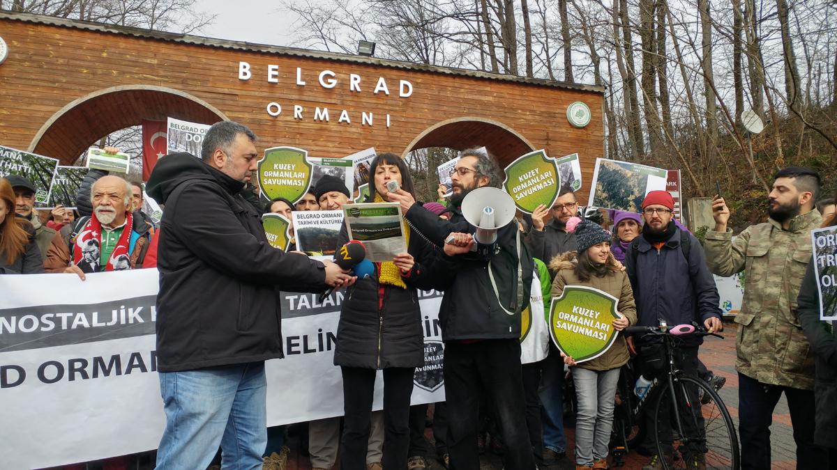 Belgrad Ormanı'nın içinden tren hattı geçirme planları tamamen iptal edildi!