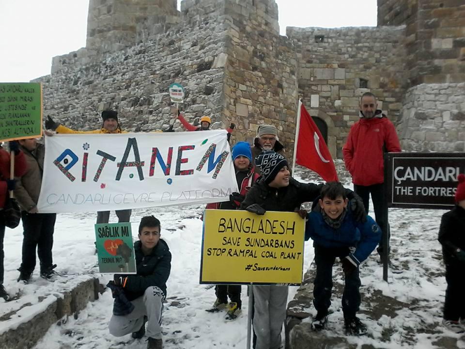 Amasralılar ve İzmirliler'den Bangladeş'e: Rampal termik santralini iptal et!