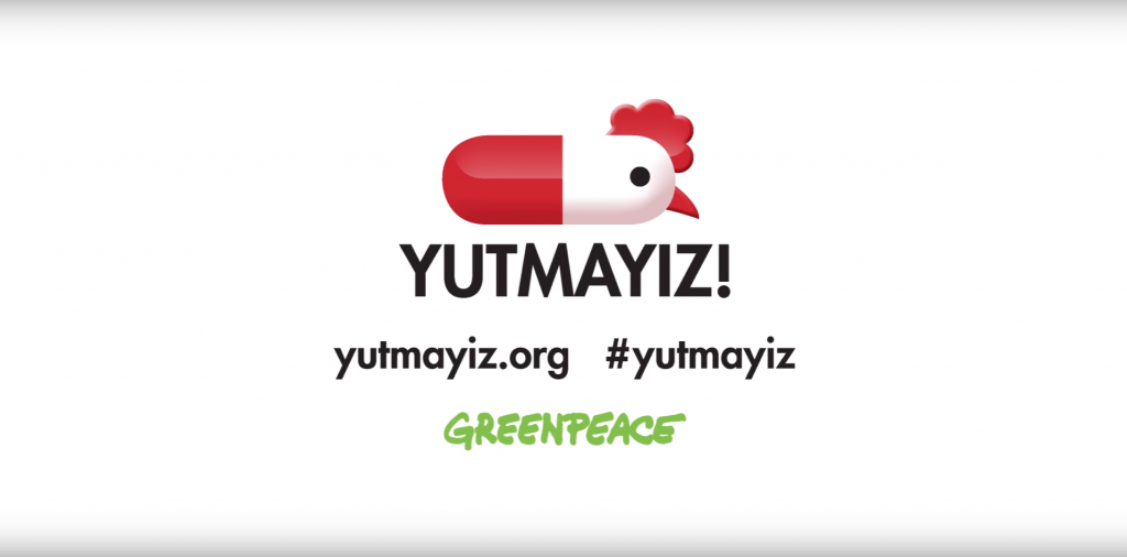 Greenpeace'e tavuk davası