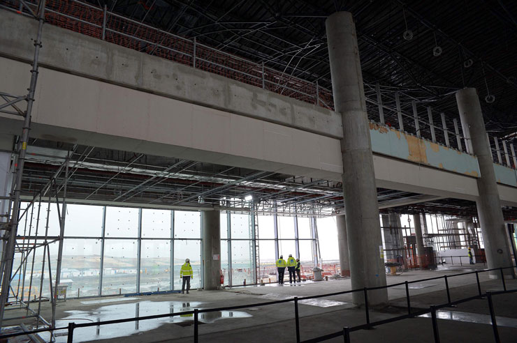 3'üncü havalimanında 'sıkıntı yok'muş: Tek firmanın çekilmesi projeyi etkilemez