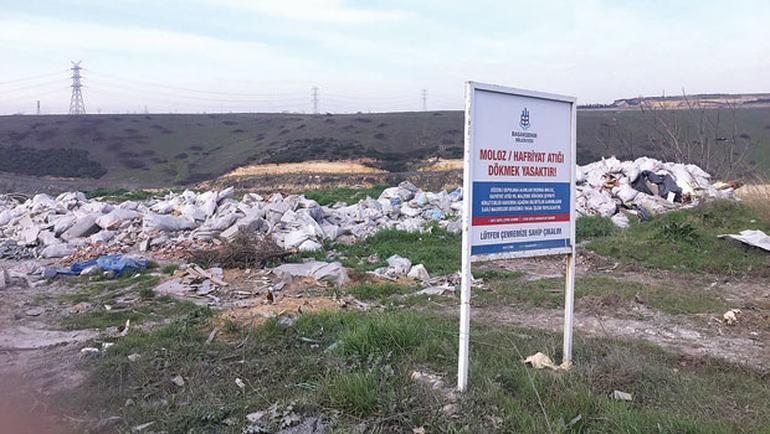3. Havalimanı katletmeye devam ediyor: İstanbul'un bir su kaynağı daha çöplüğe döndü!