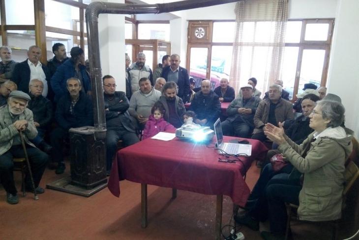 Ordu'da maden arama projesine karşı toplantı