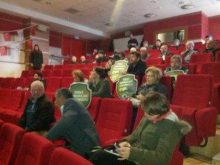 Rantiyeciler, Kuzey Marmara Otoyolu'nun toplantısını yangından mal kaçırır gibi yaptılar