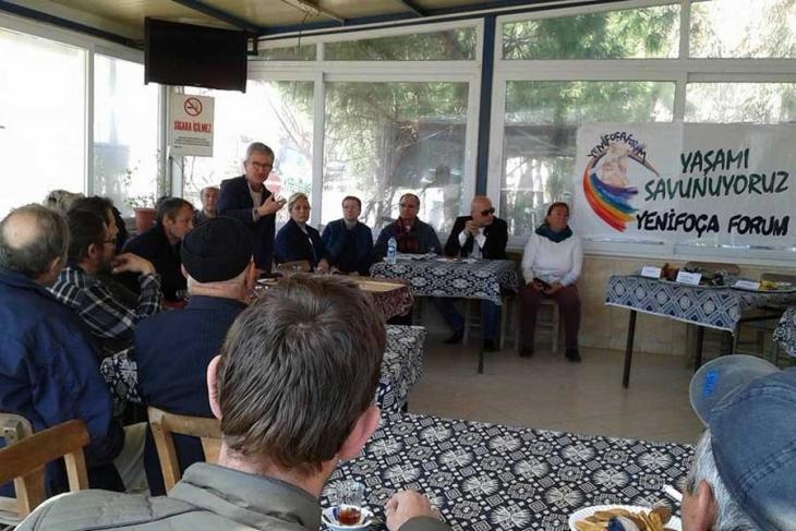 Ekoloji örgütleri, köylerde referandum çalışmasında