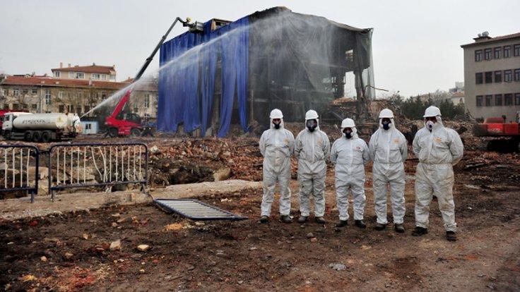 Ankara'daki Havagazı Fabrikası 'kültür mirası' kararına rağmen yıkıldı!