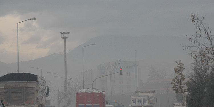 Bursa'da hava kirliliği!