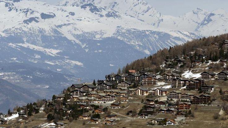Fransa'da Alp dağlarının havası artık insanı hasta yapıyor!