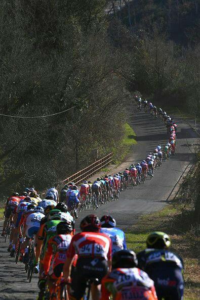 Referandumdan bir gün önce Hayır için bisiklet konvoyu