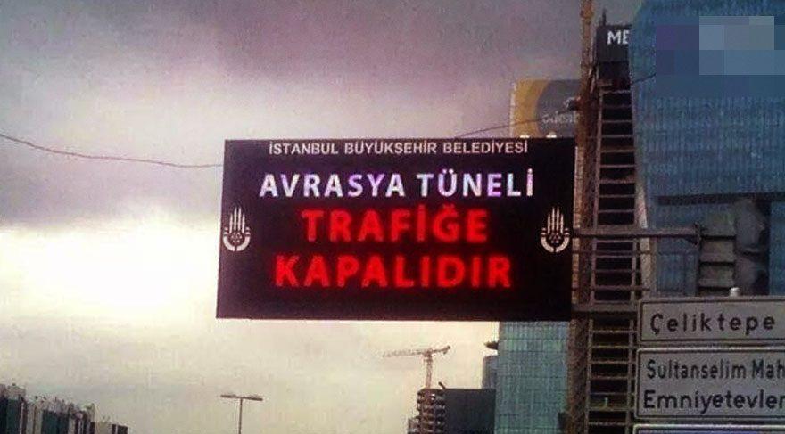 O kadar köprü parası yanında Avrasya Tüneli kapalı olsa ne olur?