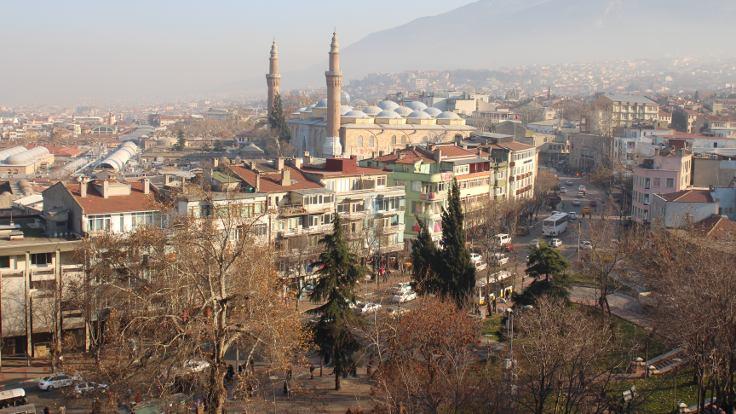 Bursa'nın yeşili azaldıkça havası kirleniyor