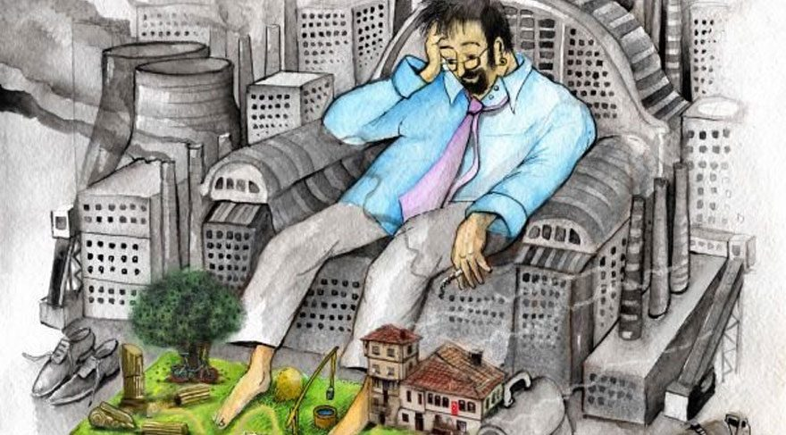 """Seferihisar'da """"SlowCity Karikatür Yarışması"""" düzenlendi"""