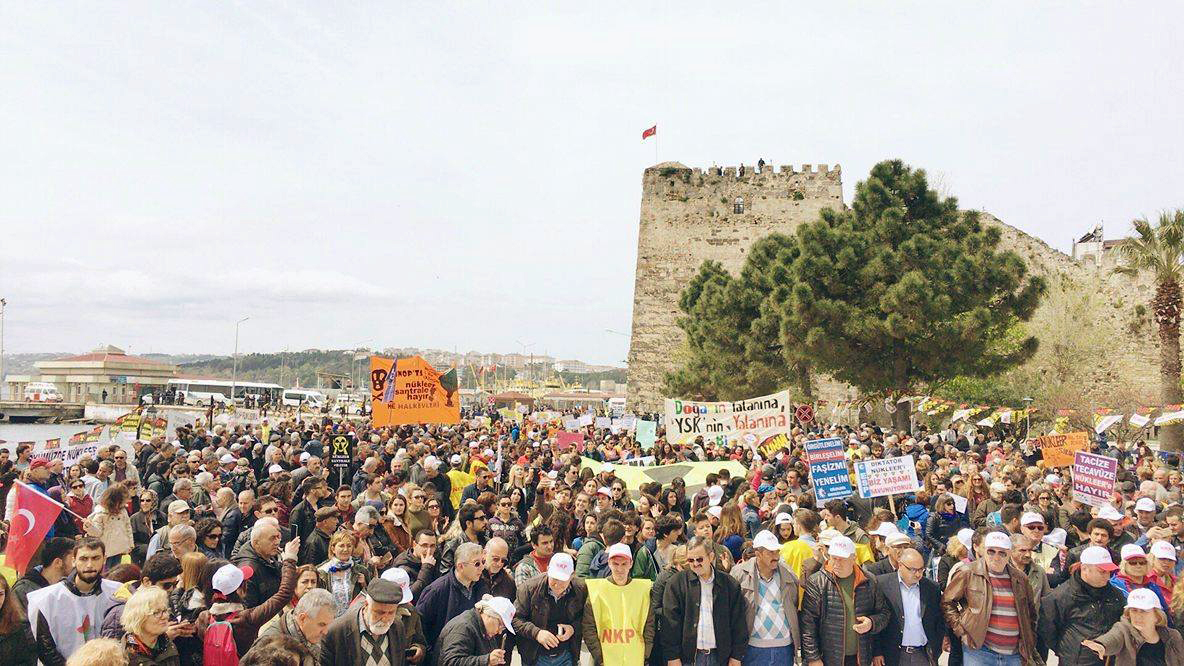 Sinop halkı haykırdı: Nükleer santrale izin vermeyeceğiz!
